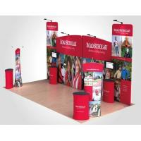 China Advertising trade show pop up banners , Wall tension fabric pop up display on sale