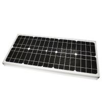 China 165W rated power CE certificate monocrystalline solar panel efficiency on sale