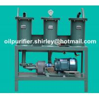 Quality Three Filtration High Precision Portable Oil Purifier Machine Lube Oil Recycling Oil Filtration wholesale