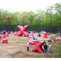 Quality Inflatable Air Bunkers Package, Paintball Bunker Pacakage wholesale