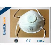 Quality Wuhan China N95 Disposable Face Mask Surgical N95 Respirator With Valve Anti Virus wholesale