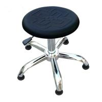 Quality EPA Sensitive Area ESD Drafting Chair Chinese Knot Pattern Surface Pneumatic Rotatable wholesale