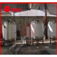 Cheap Customized Alcohol Storage Bright Beer Tank With CE Approved for sale