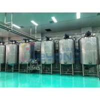 China Double Layer Dairy Processing Plant Chocolate Processing Line Automatic Temperature Control on sale