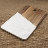 China Marble and Acacia Wooden Chopping Board on sale