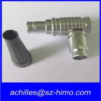 Buy cheap lemo 5 pin right angle connector product