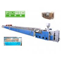 Quality Custom Double /  Wood Plastic Composite twin Screw Extruder Machinery wholesale