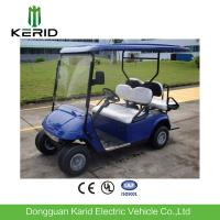 Quality 4 Seater Electric Golf Carts Battery Operated Overload Capacity wholesale