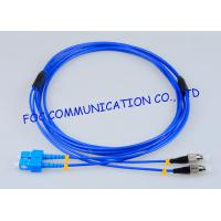 Quality Rugged Fiber Optic Patch Cable SC - FC G.657A Bending Insensitive Duplex wholesale