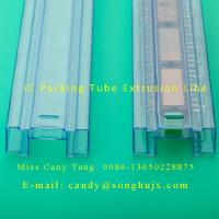 China plastic extrusion line for PVC profile IC packing tube on sale