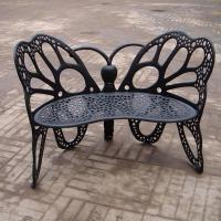Quality Eco - Friendly European Metal Garden Table And Chairs Ends For Hotel / Balcony wholesale