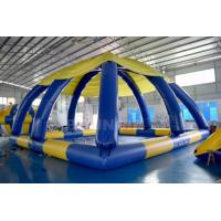 Buy cheap 10mL*10mW*5mH Large Inflatable Swimming Water Pool With Tent Cover product