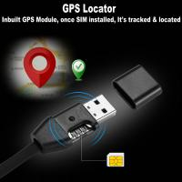 Cheap New 3-In-1 USB Data Cable Android/iPhone+Hidden Spy GSM Remote Audio Listening Bug+GPS Tracking Position GSM Locator for sale
