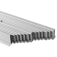 Repand Aluminium Heat Sink Profiles Heating Cooling Radiator System For for sale