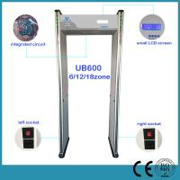 Quality Multi Zone Airport Security Archway Metal Detector Door , Walk Through Safety Gate wholesale