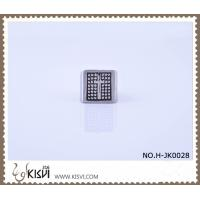 Quality OEM / ODM customed logo 6# 316l stainless steel ring H-JK0028 with factory price wholesale