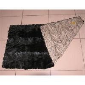 China Mink back paw fur plate on sale