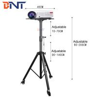 Quality 1.7m adjustable height for mini projector tripod projection stand wholesale