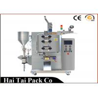 Quality Flat or Sawtooth Type Cut Tomato Sauce Packaging Machine , Pouch Packaging Equipment wholesale