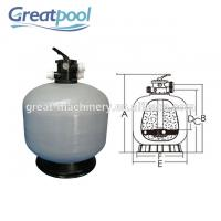 Quality Water Treatment Top Mount Sand Filter Eco Friendly Pool Filtration Equipment wholesale