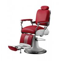 China Red antique barber chair for hair shop;Popular beauty salon furniture;hot sale hair salon equipment for sale on sale