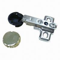 China Glass Door Hinge with Plastic Cup on sale