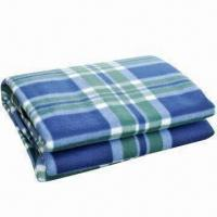 Quality Picnic/Camping Blanket with Front Fleece Fabric and Waterproof Back PEVA wholesale