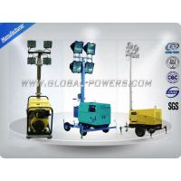 China 4×400W Metal Lamps Diesel Generator Light Tower 5Kw Waterproof Weatherproof on sale