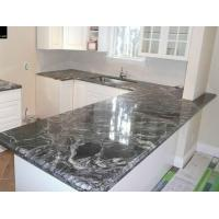 Cheap Black Forest Stone Slab Granite Counter Stone Kitchen Equipment for sale