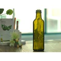 Hot sale popular square glass wine bottles with competitive price