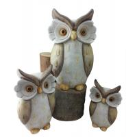 Quality Lovely Hand Cast Clay Garden Animal Statues For Home Decoration wholesale