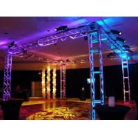 China 250*250 MM Screw  Trade  Aluminum Square Truss For Exhibition Booth on sale