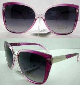 Quality Novel Plastic Frame Sunglasses Black Lens AC / PC  For Men wholesale