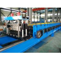 Quality Color Steel 30KW Floor Metal Deck Roll Forming Machine With Clinch System wholesale