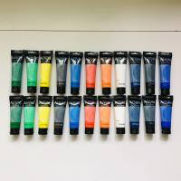 Quality Artist's Acrylic painting Color Value Series 100ml & 75ml Phoenix wholesale