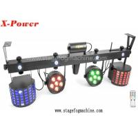 Quality Outdoor 120 Watt Led Par Can Lights Set with 5 / 20 Channel DMX Control wholesale
