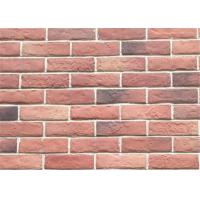 Quality 3DWN05 Decorative Interior Thin Brick Panels / Wall  Building Materials With Turned Color 210*55 wholesale