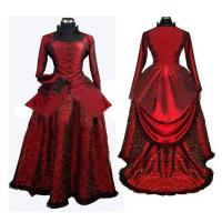 Quality Medieval Dress Wholesale XXS to XXXL Red Medieval Gothic Renaissance Gown Ball Party Dress Cosplay wholesale