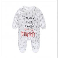 China Wholesale Baby Clothes/Romper 100% Cotton Rompers Baby Rompers Knit on sale