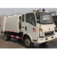 Quality Waste Disposal Vehicles Garbage Collection Truck , Compressed Refuse Compactor Truck wholesale
