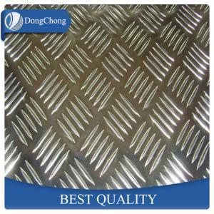 Quality Decorative Diamond Aluminum Sheet / Aluminium Checker Plate Easy Forming wholesale