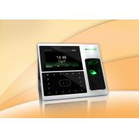 Buy cheap Electronic Facial Recognition Time Attendance System , Face Attendance Machine with TCP/ IP product
