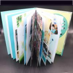Quality Art Paper Saddle Stitched Booklet , Varnishing Surface Saddle Stitched Brochure wholesale