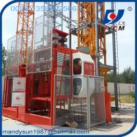 Quality 4ton Rack and Pinion Construction Hoist forLifting Materials and Passengers wholesale