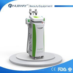 Quality ABS materials cryolipolysis cavitation rf / cryolipolysis fat freeze slimming machine wholesale