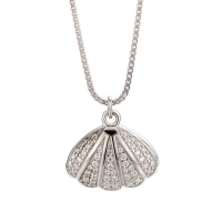 China Fashion women silver lock chain necklace sterling silver 925 jewelry on sale