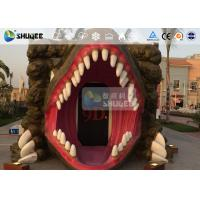 Quality 7D Cinema Movie Dinosaur Box , 7D Movie Theater With Specail Design wholesale