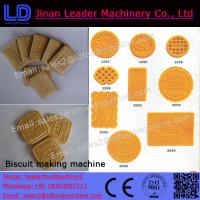 Quality Low consumption biscuit production line machinery cookies wholesale