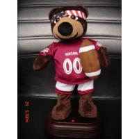 Quality 12Inch Plush American Football Bear Baby and Toddler Electronic Toys for Promotional Gifts wholesale