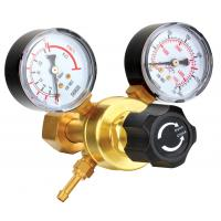 Quality Small Compressed Gas Pressure Regulator With Gauge For Manufactory / Construction wholesale